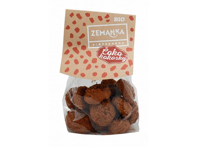Zobrazit detail výrobku Biopekárna Zemanka Bio Čoko-kokosky s Fair Trade čokoládou 100 g