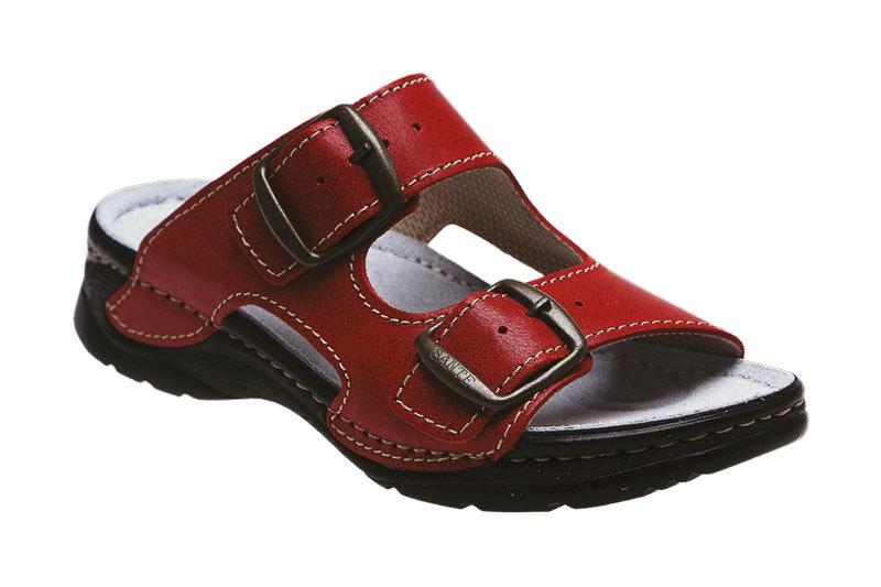 Zobrazit detail výrobku SANTÉ Zdravotní obuv dámská D/10/C31/CP červená vel. 40