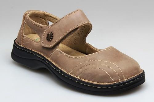 SANTÉ Zdravotná obuv dámska N / 224/8/43 svetlo hnedá vel. 39