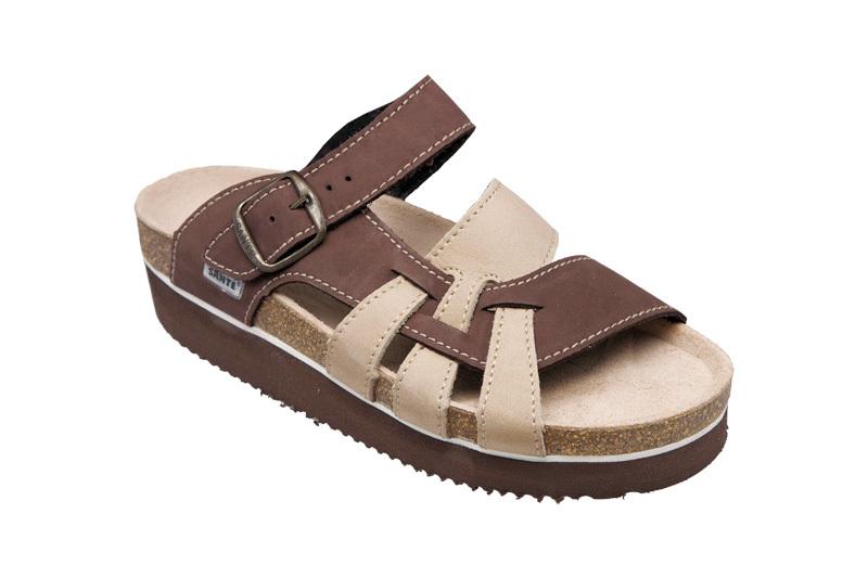 Zobrazit detail výrobku SANTÉ Zdravotní obuv dámská N/240/9/52/22/H/K hnědá vel. 35