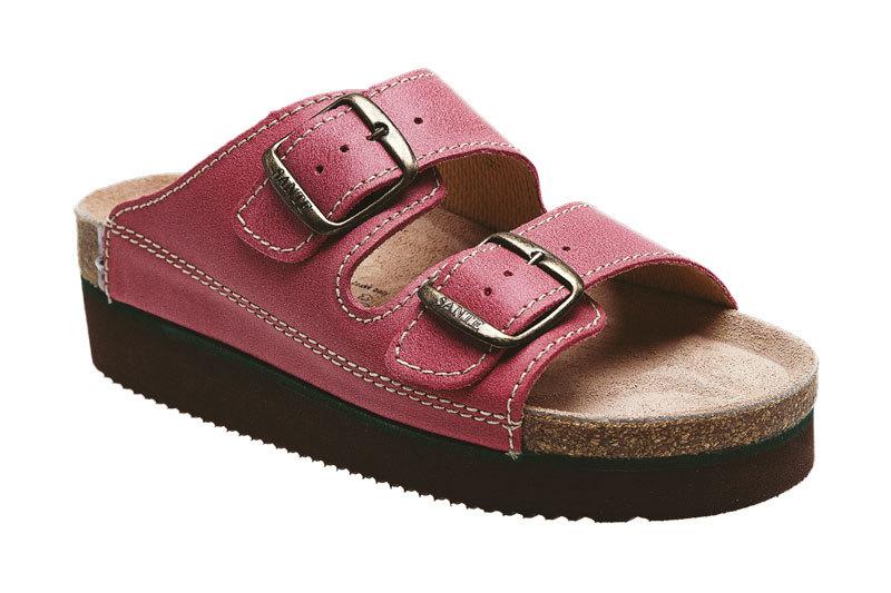 SANTÉ Zdravotná obuv dámska N / 25 / C30 / H / K / CP svetlo červená 37
