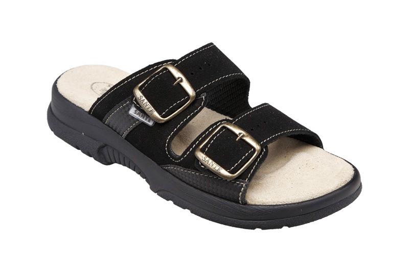 SANTÉ Zdravotná obuv dámska N / 517/33/68 / CP čierna 41