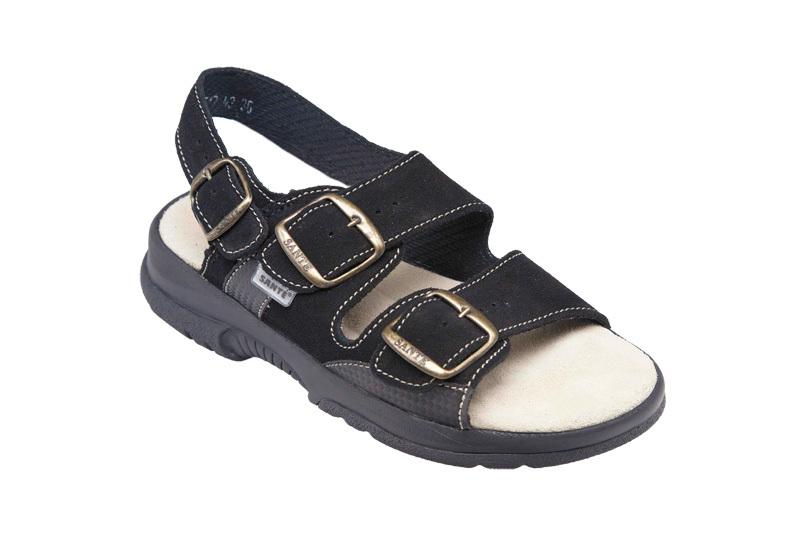 Zobrazit detail výrobku SANTÉ Zdravotní obuv dámská N/517/43/68/CP černá 36