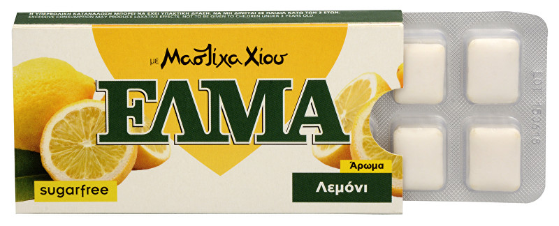Zobrazit detail výrobku Mastic Life ELMA Lemon Chewing Gum 10 ks