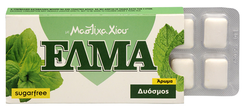 Zobrazit detail výrobku Mastic Life ELMA Spearmint Chewing Gum 10 ks