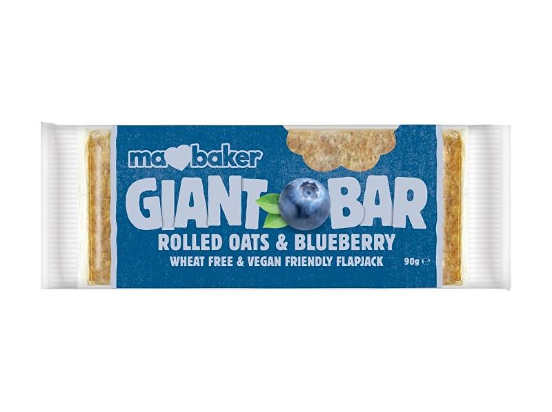 Ma Baker Giant Bar 90 g borůvky