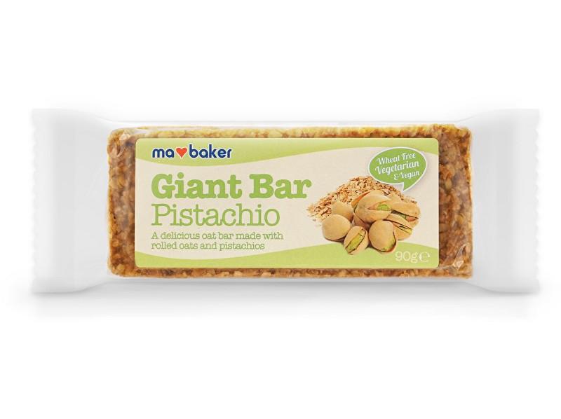 Zobrazit detail výrobku Ma Baker Giant Bar 90 g pistácie
