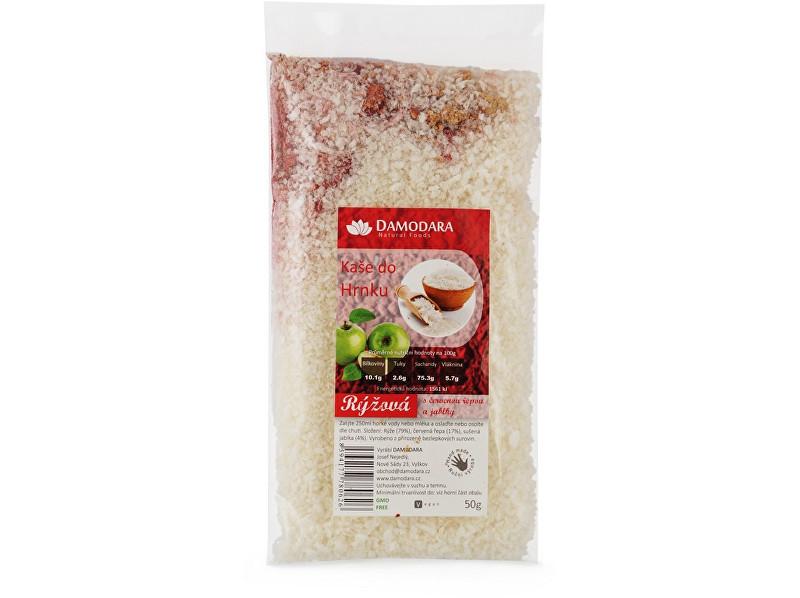 Zobrazit detail výrobku Damodara Instantní kaše do hrnku rýžová s červenou řepou a jablky 50g