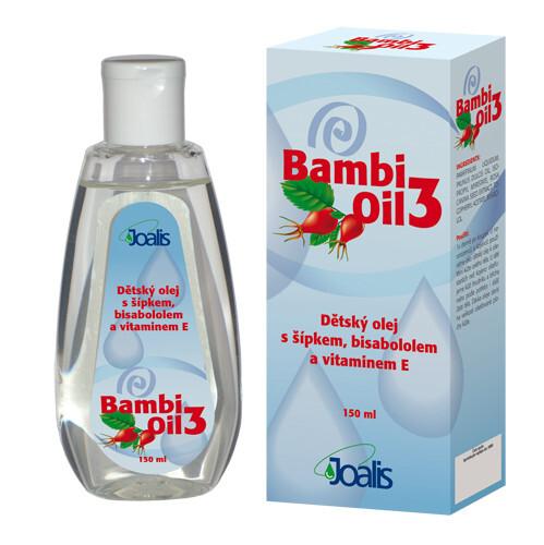 Zobrazit detail výrobku Joalis Joalis Bambi Oil 3 150 ml