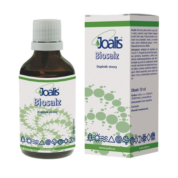 Zobrazit detail výrobku Joalis Joalis Biosalz 50 ml