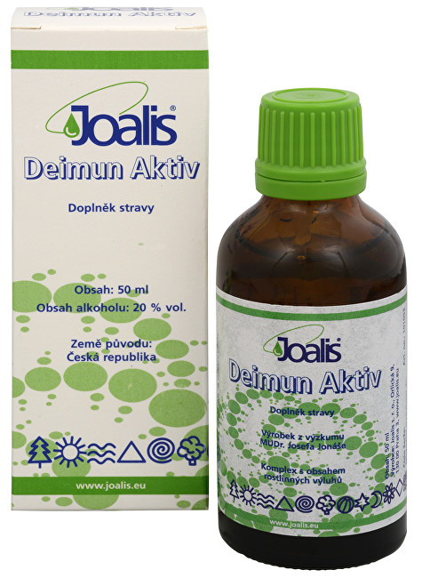 Zobrazit detail výrobku Joalis Joalis Deimun Aktiv 50 ml