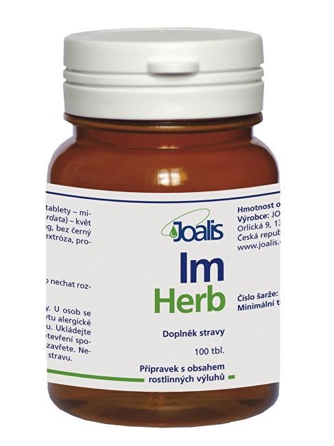 Zobrazit detail výrobku Joalis Joalis ImHerb (ImunoHelp) 100 tbl.