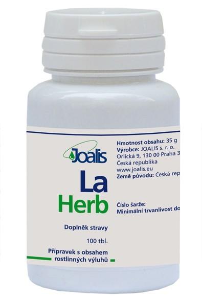 Zobrazit detail výrobku Joalis Joalis LaHerb (LaxaHelp) 100 tbl.