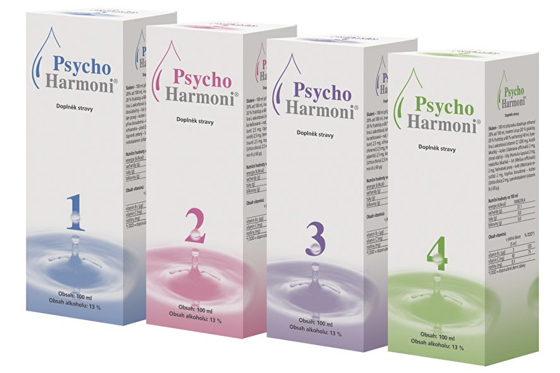 Joalis PsychoHarmoni Set 4x100 ml