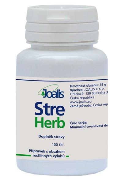 Joalis StreHerb (StressHelp) 100 tbl.