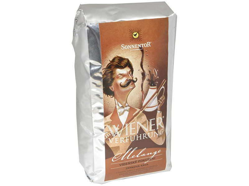 Zobrazit detail výrobku Sonnentor Bio Káva vídeňské pokušení Melange 500 g - mletá