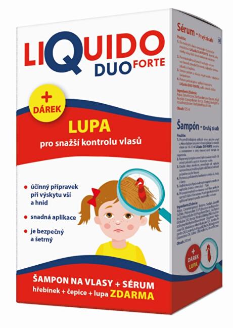 Zobrazit detail výrobku Simply You LiQuido DUO FORTE šampon na vši 200 ml + sérum 125 ml ZDARMA