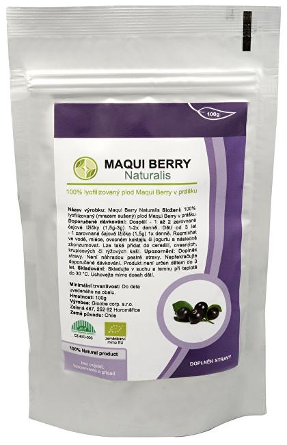 Zobrazit detail výrobku Naturalis Maqui Berry Naturalis 100 g - SLEVA - poškozená etiketa