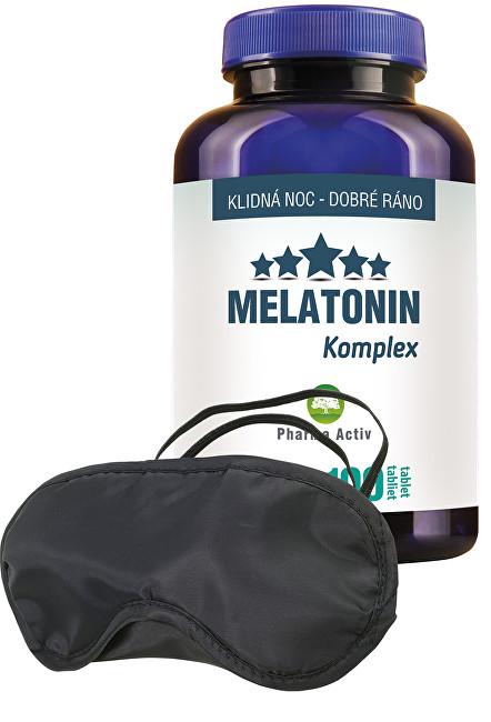 Zobrazit detail výrobku Aurum Sníček Melatonin 100 tbl.