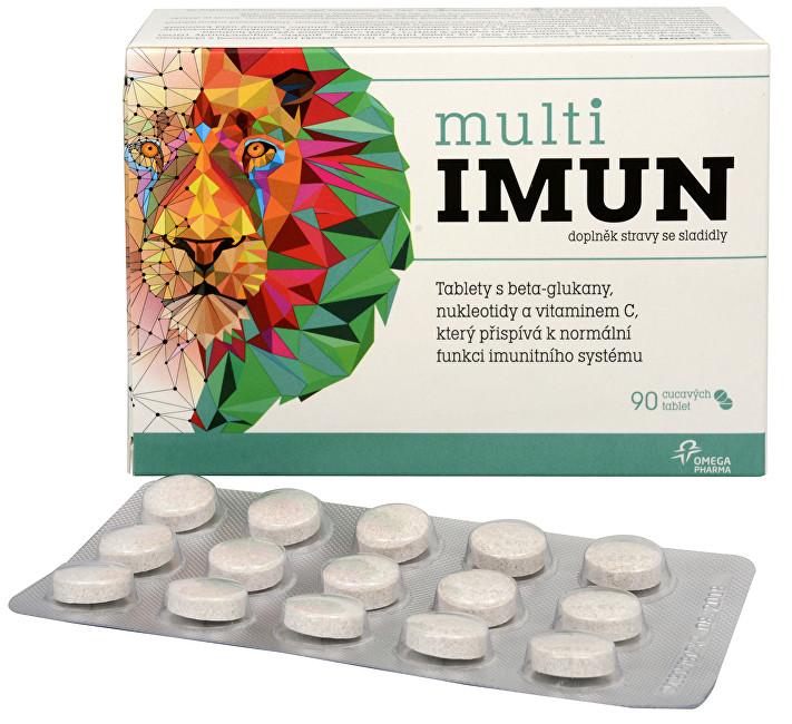 Zobrazit detail výrobku Omega Pharma MultiIMUN cucavé tablety s grepovou příchutí 90 ks