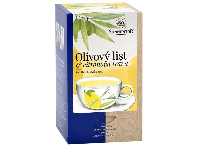 Zobrazit detail výrobku Sonnentor Bio Olivový list a citronová tráva porcovaný 18x1,8g