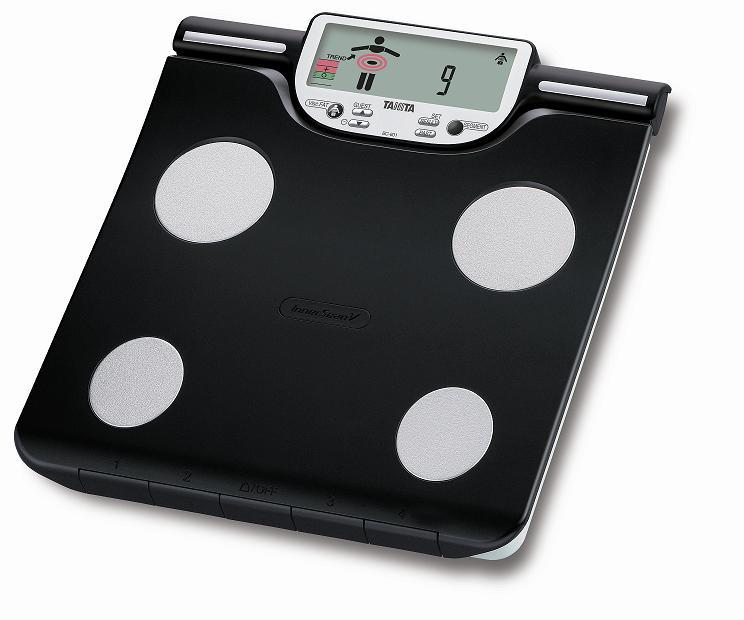 Zobrazit detail výrobku Tanita Osobní digitální váha Tanita BC-601 se slotem pro SD kartu a segmentální analýzou
