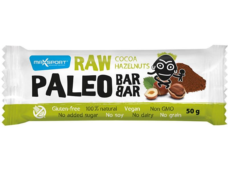 Max sport Paleo tyčinka Barbar kakao - lískový oříšek 50 g