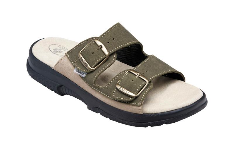Zobrazit detail výrobku SANTÉ Zdravotní obuv pánská N/517/36/98/28/CP khaki vel. 42
