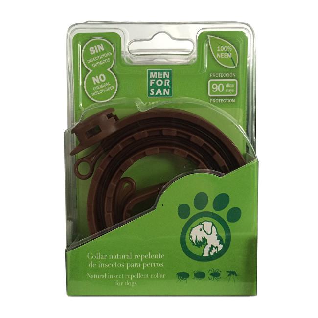 Menforsan Prírodný obojok pre psov, odpudzujúci kliešte a blchy (Natural Insect Repellent Collar for Dogs)