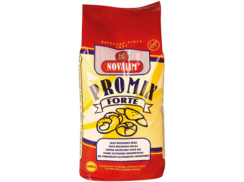 Novalim Promix-forte bezlepková mouka silná 1kg