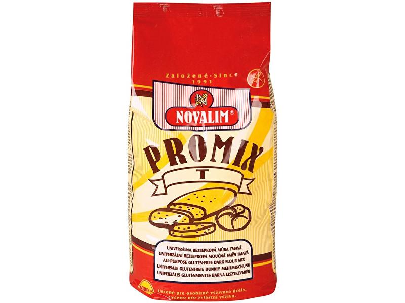 Zobrazit detail výrobku Novalim Promix-t bezlepková mouka univerzální tmavá 1kg