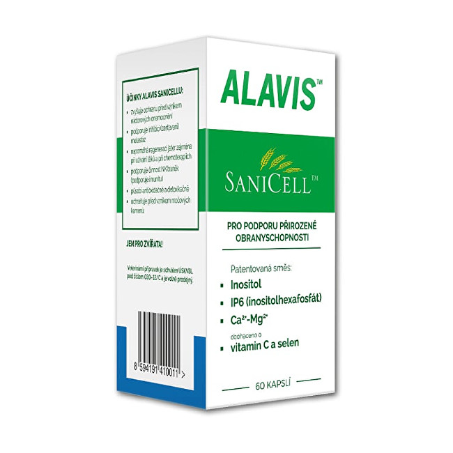 Zobrazit detail výrobku Alavis Sanicell™ pro psy a kočky 60 tbl.