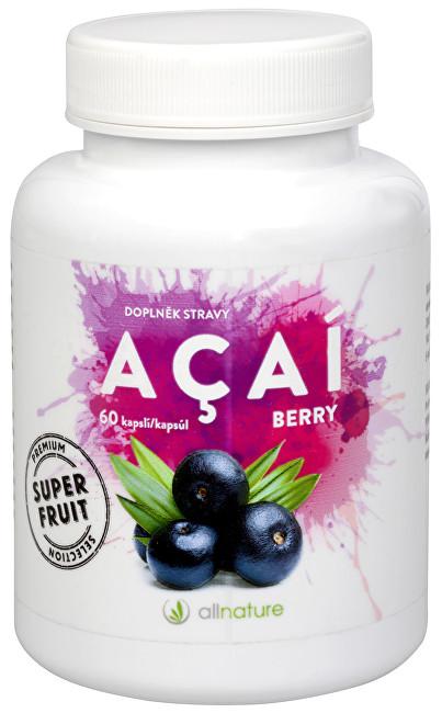 Zobrazit detail výrobku Allnature Acai berry 60 kapslí