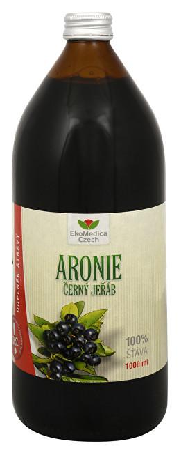 Arónie - 100% šťáva z plodu aronie černoplodé 1000 ml