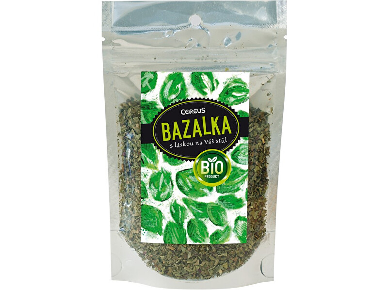 Zobrazit detail výrobku Cereus Bio Bazalka drhnutá 20g