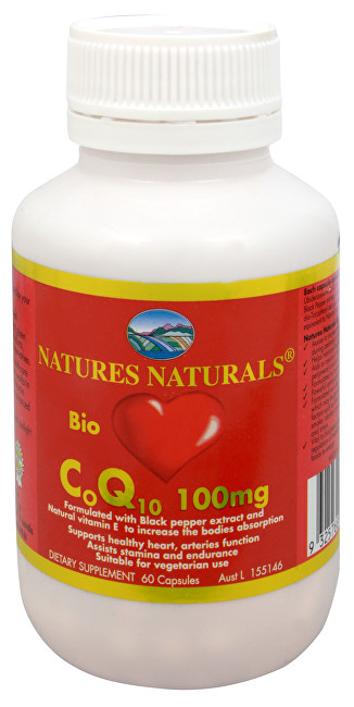 Bio CoQ10 100 mg 60 kapslí