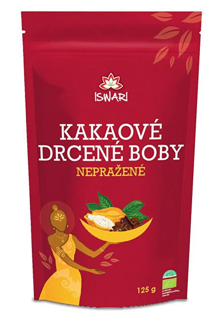 Iswari BIO Kakaové drcené nepražené boby 125 g