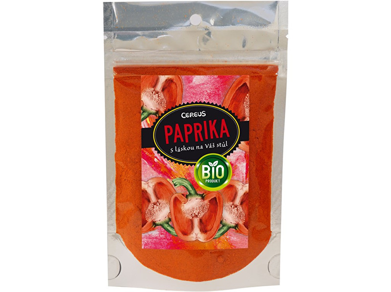 Zobrazit detail výrobku Cereus Bio Paprika sladká mletá 40g