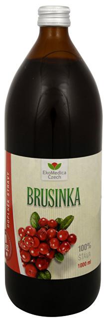 Brusinka - 100% šťáva z brusinky 1000 ml