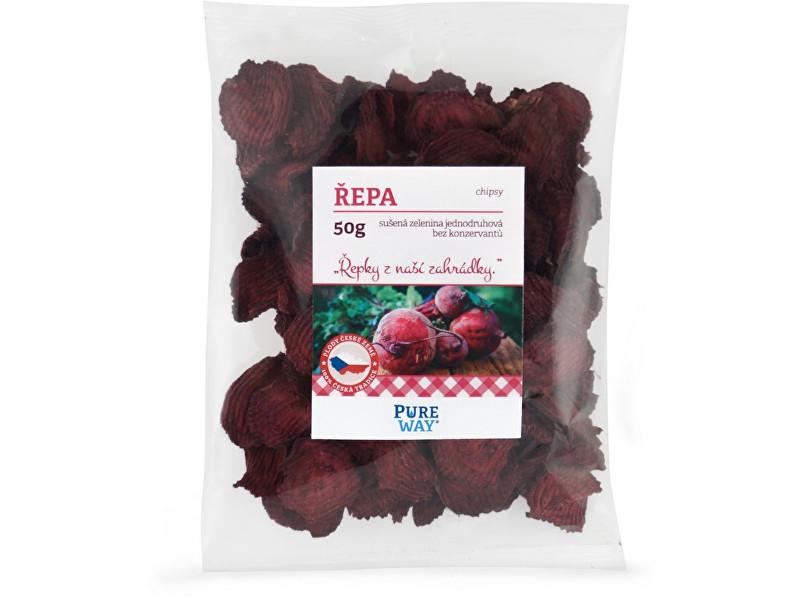 Pure Way Červená repa - chipsy 50g