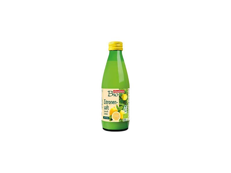 Rinatura Bio Citronová šťáva 100% 250ml