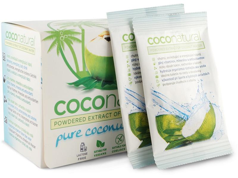 coconatural COCO natural 15x8g Box - instantný kokosová voda