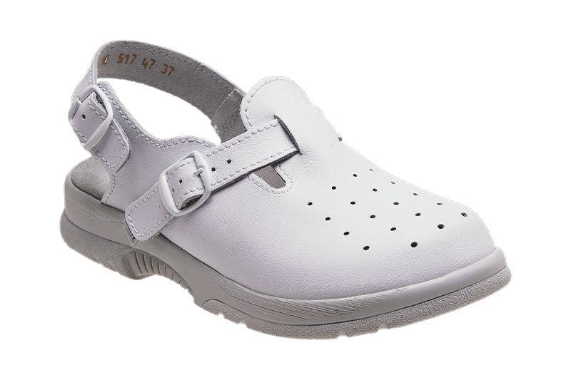 SANTÉ Zdravotná obuv pánska N / 517/48/10 biela 45