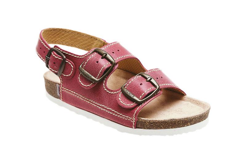 SANTÉ Zdravotní obuv dětská D/302/C30/BP červená 27