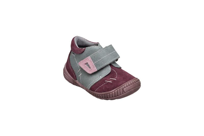 SANTÉ Zdravotní obuv dětská N/661/401/19/77/56 šedo-růžová vel. 27