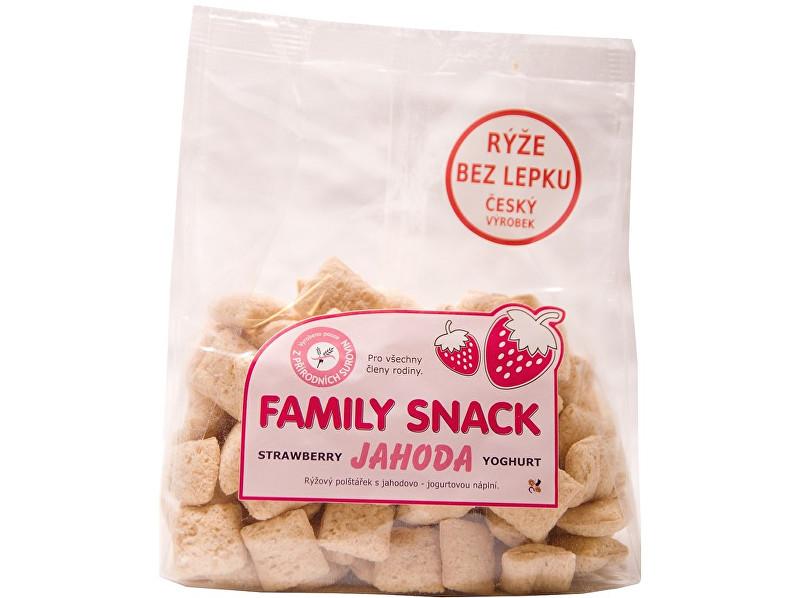 Zobrazit detail výrobku Family snack Jahoda s jogurtem 165g