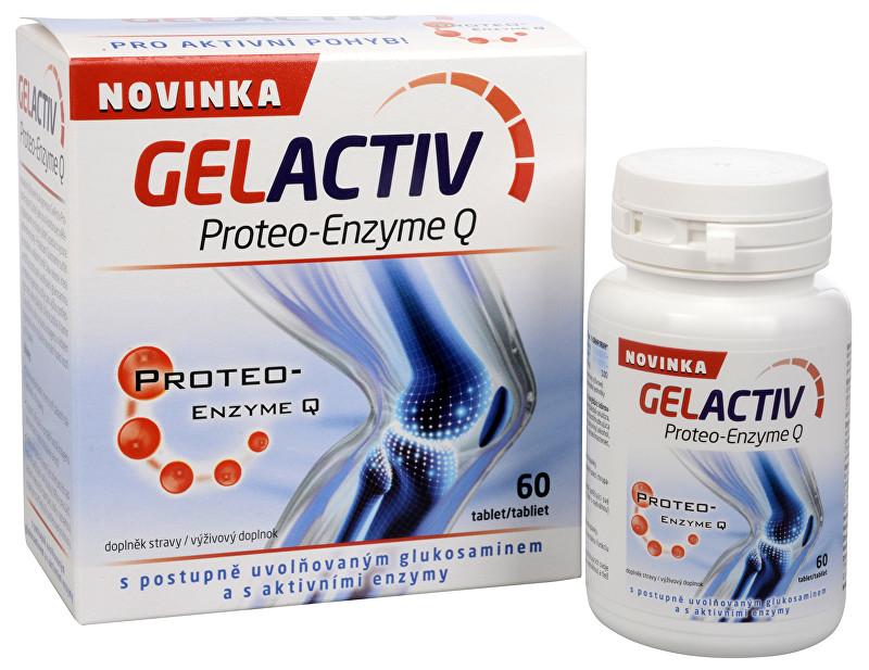 Zobrazit detail výrobku SALUTEM Pharma Gelactiv Proteo-Enzyme Q 60 tbl.