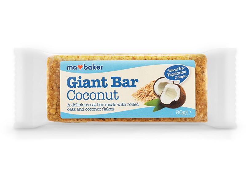 Zobrazit detail výrobku Ma Baker Giant Bar 90 g kokos