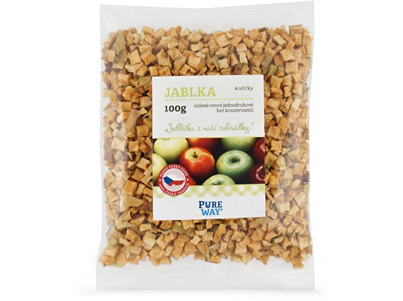 Zobrazit detail výrobku Pure Way Jablka - kostičky 100g