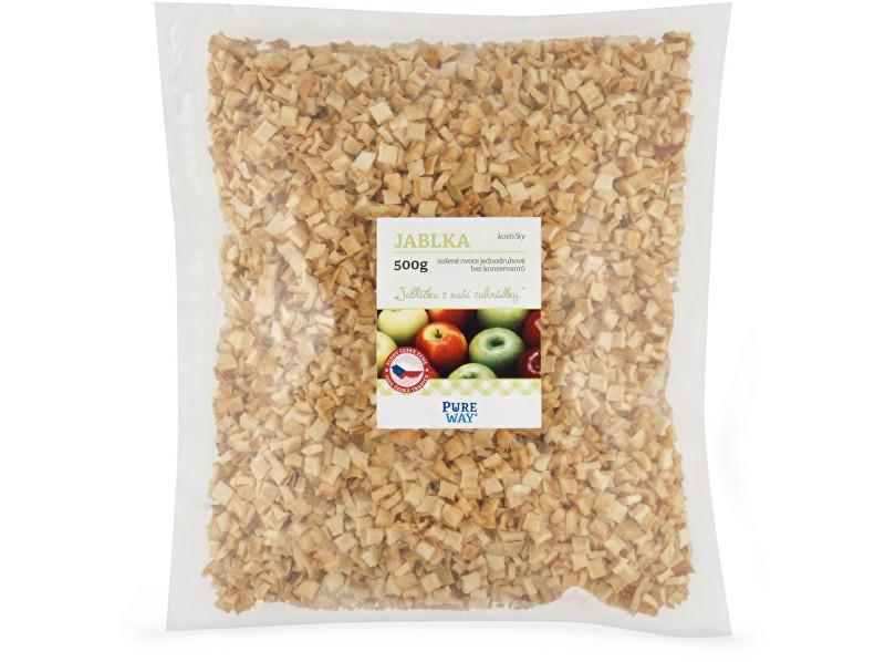 Zobrazit detail výrobku Pure Way Jablka - kostičky 500g